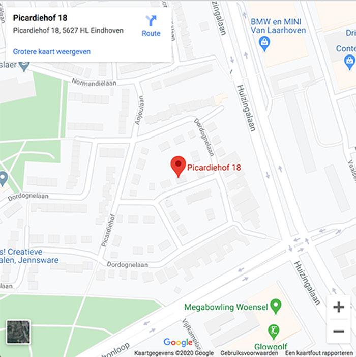 Google Maps Bens & Partners